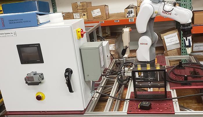 2018 NACHI MZ04E 6 AXIS CNC COLLABRATIVE ROBOT 4 KG X 541 MM REACH NEVER USED BUILT 2018
