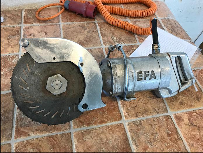 Använd Stycksåg EFA 3fas