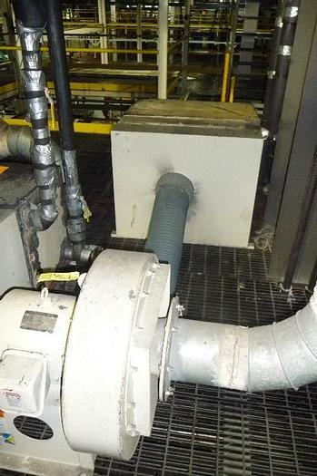 Used 10HP NYB 1708 Aluminum Pressure Blower
