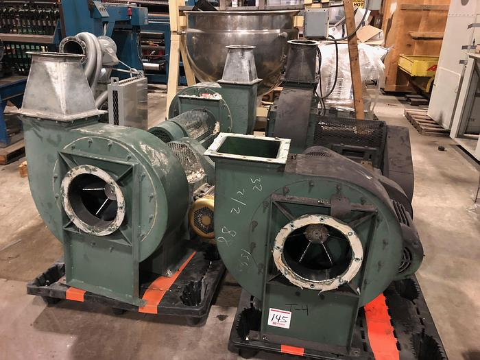Used NEW YORK BLOWER COMAPNY FAN SERIES 30 GI FAN (5 Available)