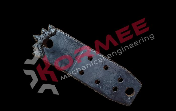 "Kormee Stuurplaat 3.5"" MONSTER VM 6-bolt"