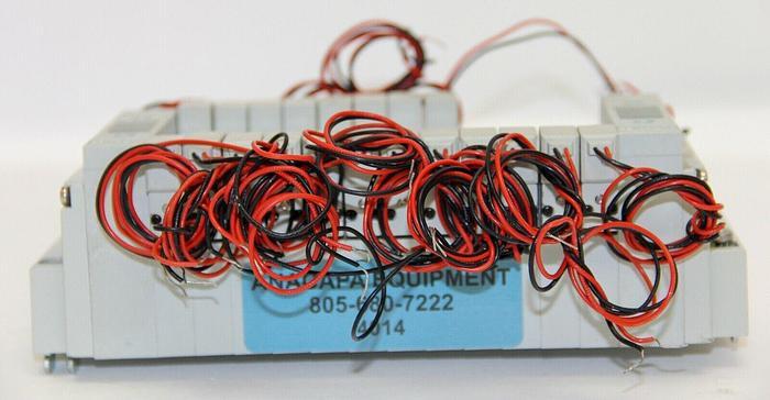 Numatics F2DBW411BL00061,F2DBBD11BL00061 (X12) Pneumatic Valve w/Manifold (4014)