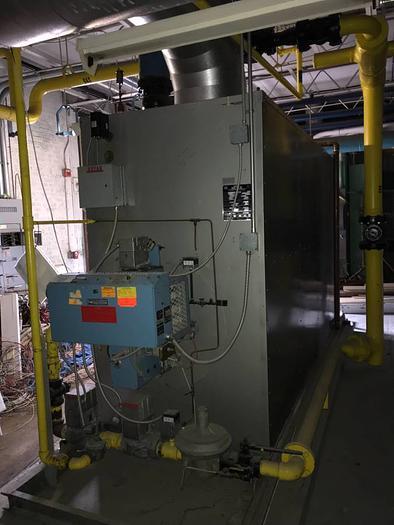 Used 1988 Bryan boiler 5.5 million btu RV550-w