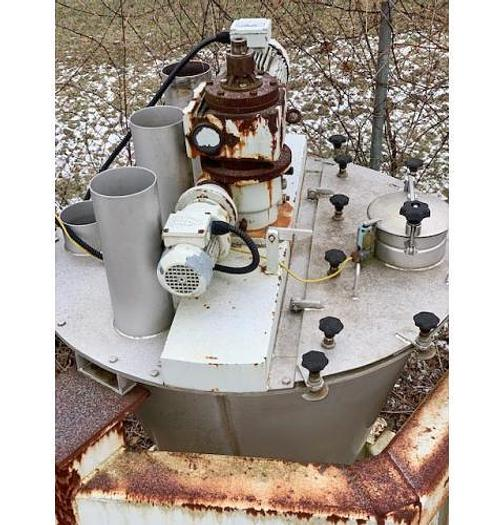 USED NAUTA MIXER, 10.6 CUBIC FEET, STAINLESS STEEL