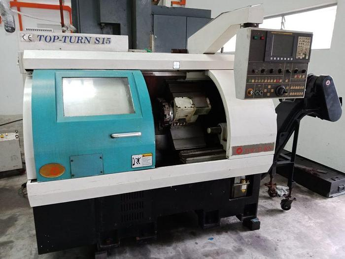 Used Used TOPTURN CNC Lathe S-15