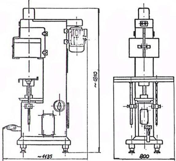 Używane Zamykarka półautomatyczna XZG-48