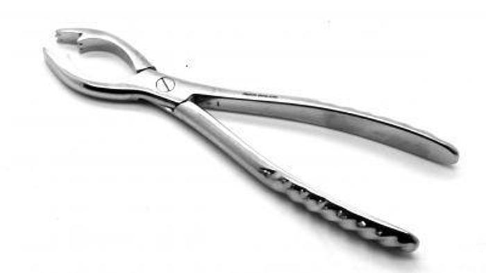 Used Forceps Bone Holding Fergusson 150mm (6in)