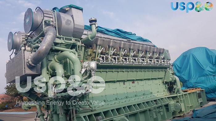 23 MW 2021 New Hyundai Himsen 16V34HLX HFO Generator
