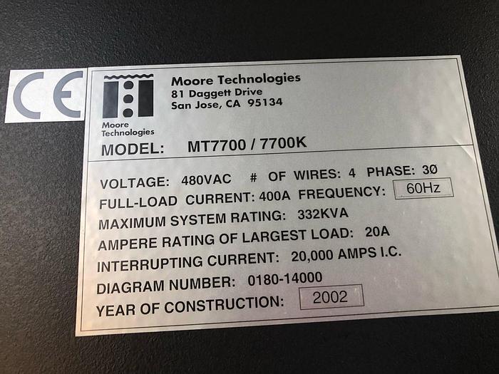Moore Technologies MT7700/7700K  EPI