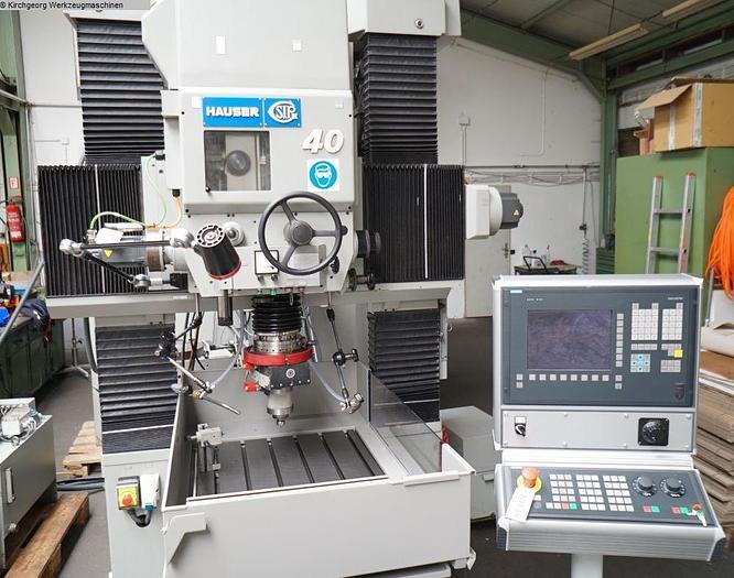 #20138 - HAUSER S 40 CNC / Sinumerik 840 D