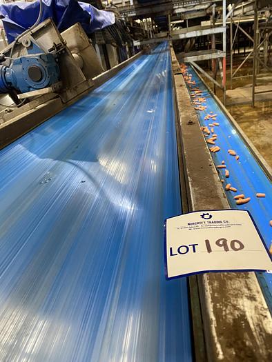 Used Steel Conveyor Belt 27m L 0.5m W