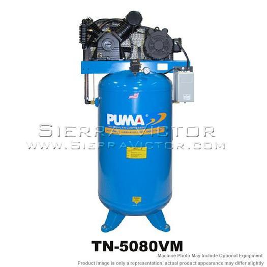 PUMA 5 HP Commercial 3-Phase Air Compressor TN-5080VM3