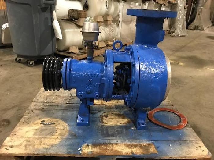 Used GOULDS MDL 3196 4 X 6-10 CENTRIFUGAL PUMP 316SS