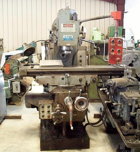 Used Polamco Horizontal/Vertical Milling Machine FWD325 Jafo