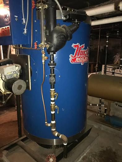 Used Hurst High Pressure Boiler 15 HP like new!