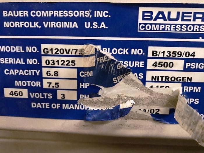 Bauer G120V/7.5