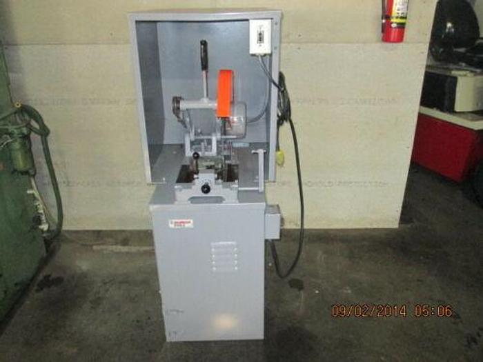 Used KALAMAZOO CUTOFF SAW WITH INTERNAL DUST COLLECTOR
