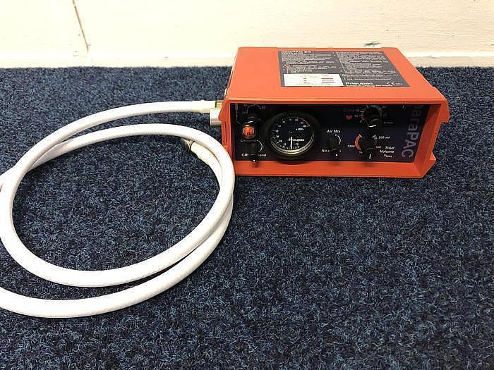 Used Pneupac Ventilator Parapac 2D