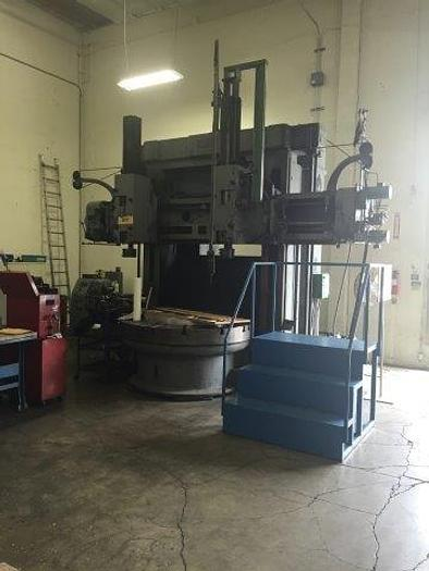 "Used 72"" KING VERTICAL BORING MILL"