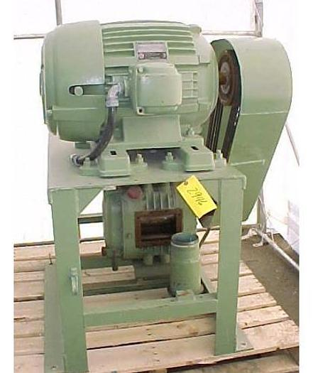 "USED ROTARY LOBE BLOWER, 200 CFM, 4"" INLET & OUTLET"