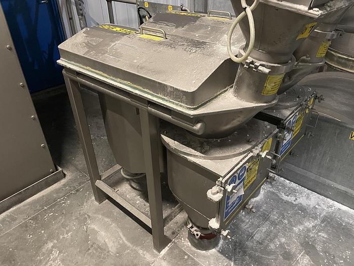 Used KEMUTEC KEK CM Cone Mill Grinder