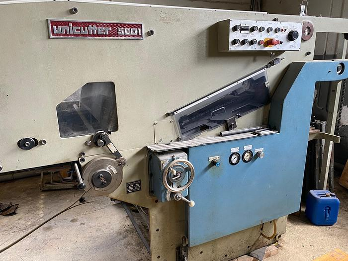 Used 1980 TMZ Unicutter 5001
