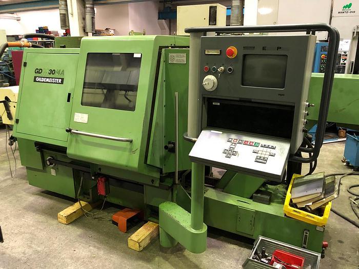 1991 CNC Drehmaschine GILDEMEISTER GDM 30-4A