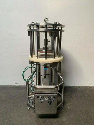 Used Mann Welding Stainless Steel 40L Chromatography Column 15 PSI
