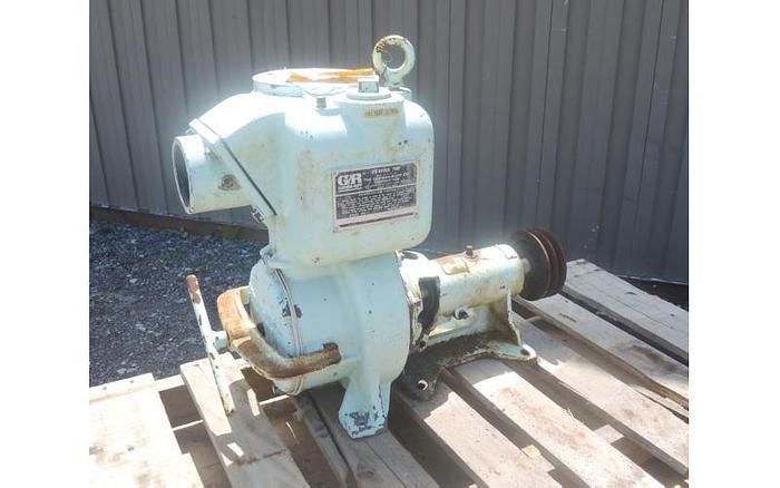 """USED CENTRIFUGAL PUMP, 3"""" X 3"""" INLET & OUTLET, CARBON STEEL, SELF-PRIMING"""
