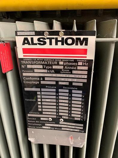 1993 Alsthom KVA: 1600