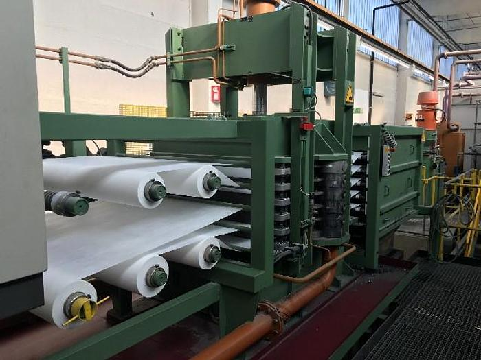 Used ACHENBACH SUPERSTACK FILTER FOR AN ALUMINUM FOIL FINISHING MILL