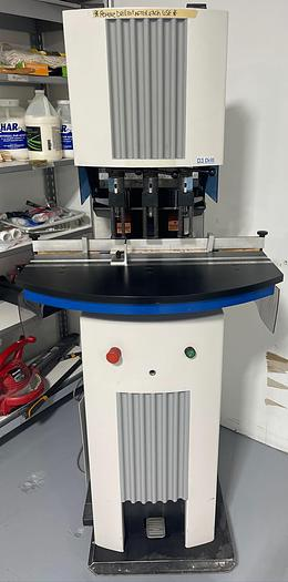 Used Heidelberg HD3A-M-2 Three Hole Paper Drill Available Oct. 7
