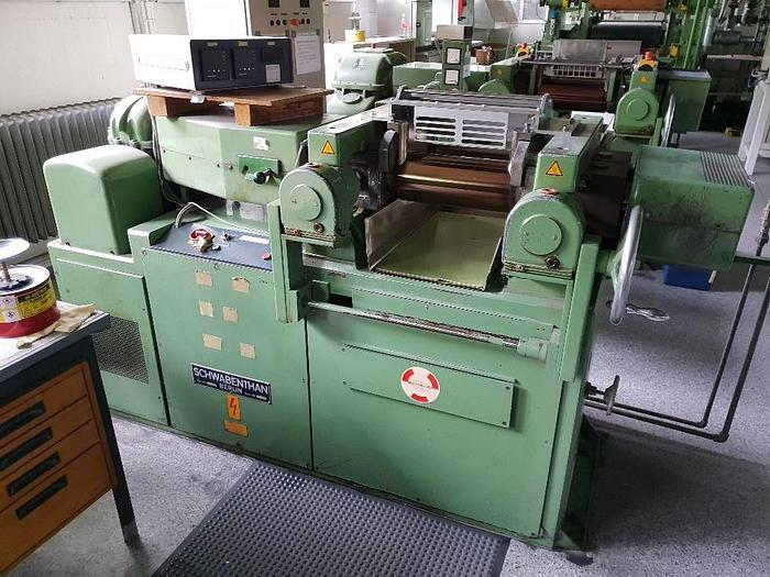 Used Schwabenthan 350 x 150mm 2 Roll Mill
