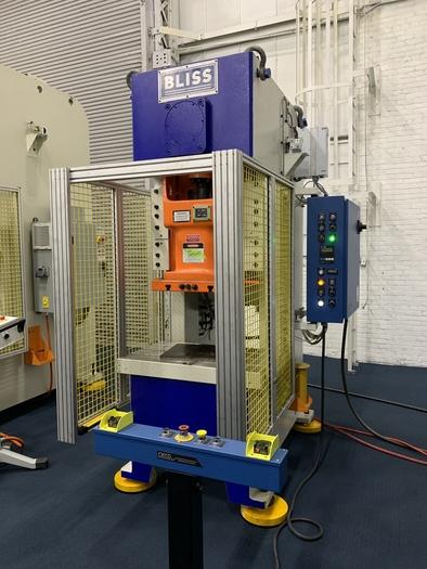 88 ton Bliss Gap Frame Mechanical Press (NEW In-Stock)