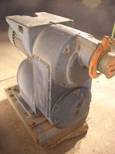 Used 20 HP Reeves Variable Speed Drive With Gear Reduction Output