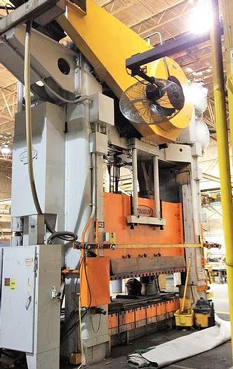 """Used 1000 ton Danly 120""""x60"""" SSDC Stamping Press"""