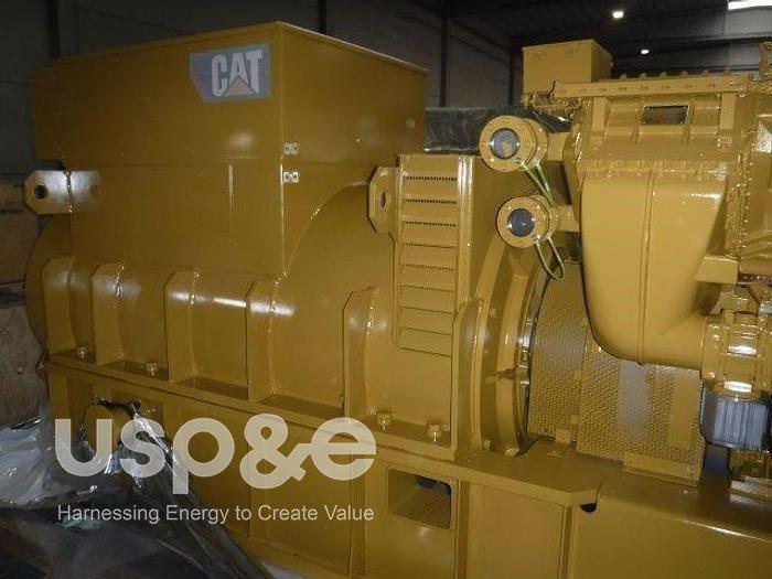 16 MW 2019 New Caterpillar CG170-20 Natural Gas Generator