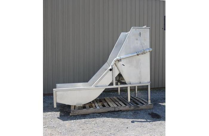 "USED IPEC SIDEHILL SCREEN, 36"" WIDE, STAINLESS STEEL"