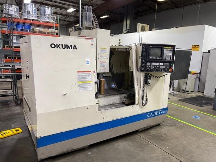Used OKUMA CADET MATE 4020  CNC Machining Center #5923