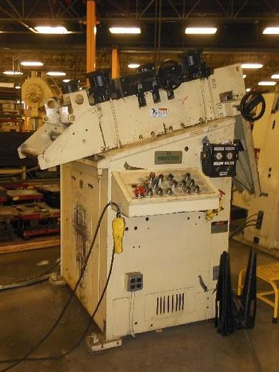 "Used 26"" WIDE x .125 X 6,000LB MINSTER SERVO FEED LINE"
