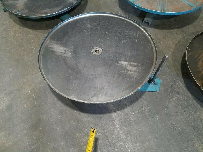 "Used 36"" Stock Reel Metal Material Strip Payoff Stamping J"
