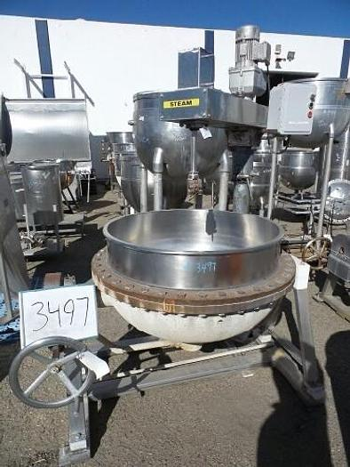 Used 100 Gallon Jacketed Mix Kettle
