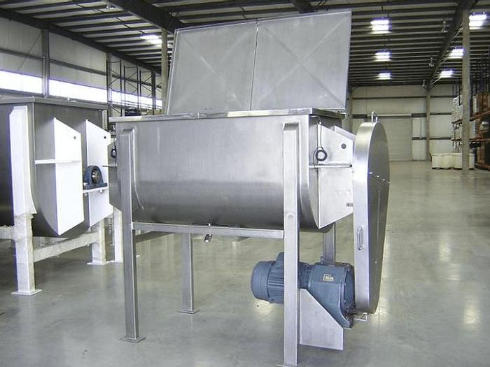 Used NEW – 35 CU. FT. DOUBLE RIBBON BLENDER – S/S
