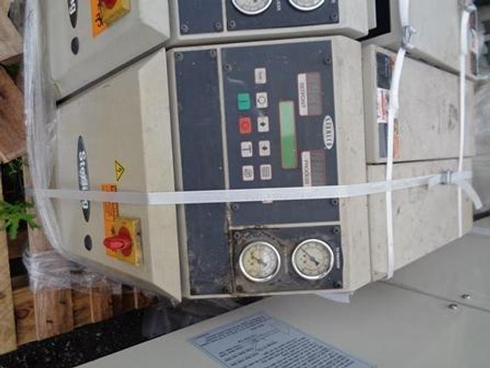 Used Sterling temperature control unit, Model M2B2010-6, 400 Volt electrical input, 2HP, 3 Phase