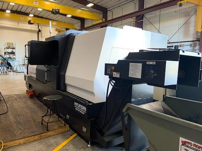 2018 Hyundai L400LMC Big Bore CNC Turning Center