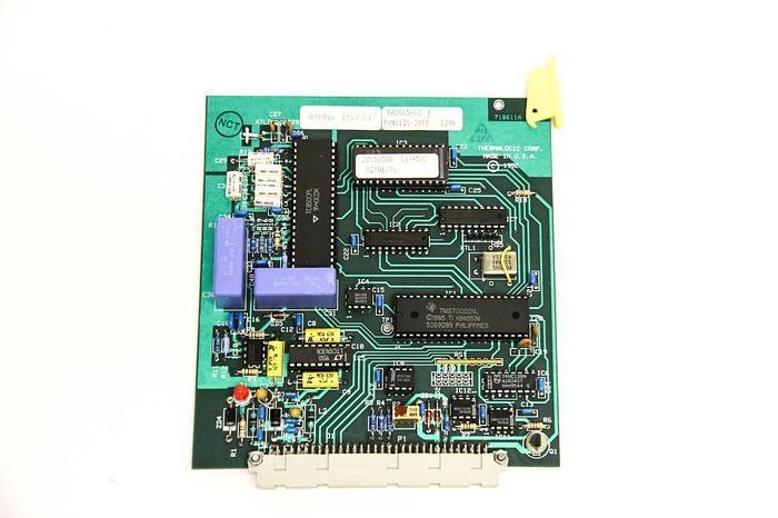 Used Thermalogic 121-201X Temperature Controller PCB Board RA2015-03 Rev. F (5249)