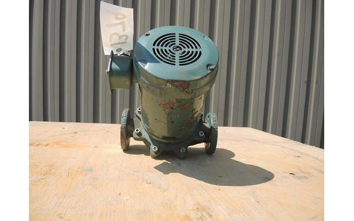 """USED CENTRIFUGAL PUMP, 1.5"""" X 1.5"""" INLET & OUTLET, STAINLESS STEEL"""