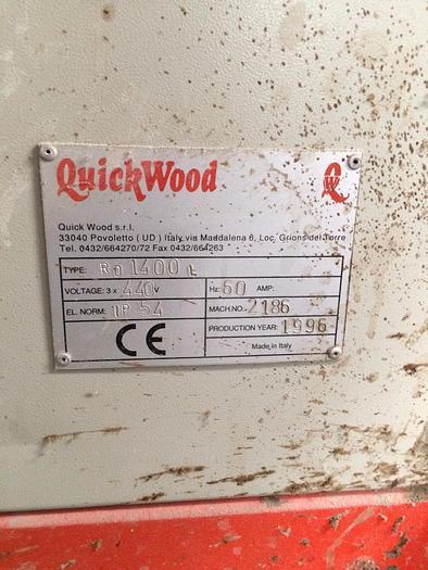 Quickwood RO 1400 L Wide Belt Sander