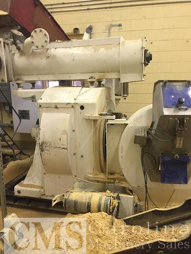Used Complete Operation 1-2 TPH Pellet Mill