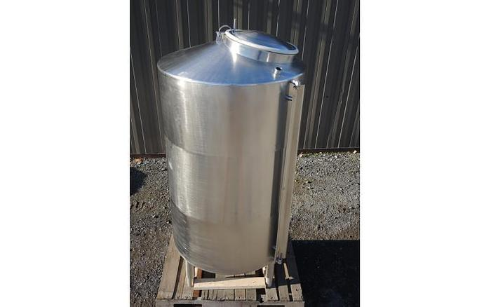 USED 317 GALLON TANK, STAINLESS STEEL